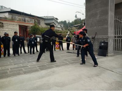 蒲川乡举行校园安全管理现场观摩培训