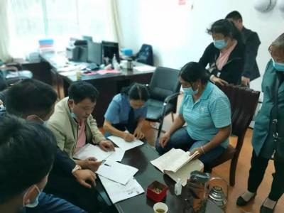 [教育整顿]我为群众办实事:腾冲市人民检察院开展根治拖欠农民工资集中联合接访行动