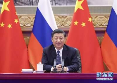 习近平同俄罗斯总统普京共同见证中俄核能合作项目开工仪式