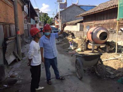 马站乡组织开展安全生产专项行动检查