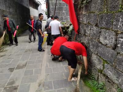 固东镇开展爱国卫生大扫除志愿服务活动