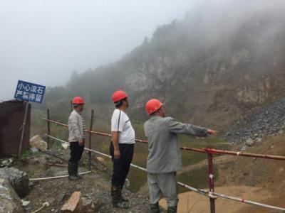 马站乡开展汛期非煤矿山安全生产专项检查