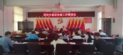 团田乡召开2021年基层党建工作推进会