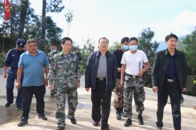 杨军到滇滩镇督促指导边境立体化防控体系建设整改工作