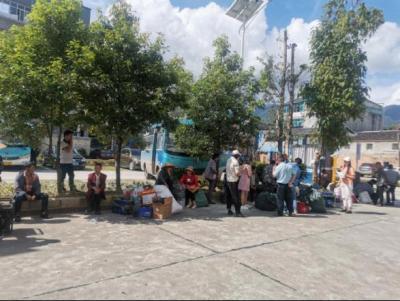 固东镇积极支援猴桥镇强边固防建设