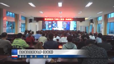 固东镇组织观看电影《杨善洲》