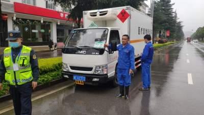 腾冲市运管局强化医疗废物运输车辆监管