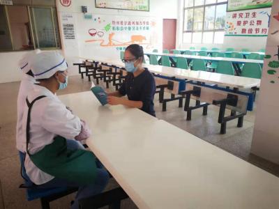 滇滩镇早坡完举办餐饮服务操作规范培训