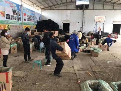 蒙自:30吨爱心蔬菜即将发往武汉
