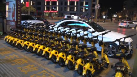 蒙自1000余辆共享电单车投放使用