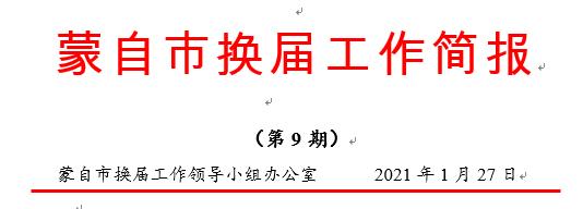 """蒙自市以""""练""""备""""战""""组织开展换届选举""""大练兵"""""""