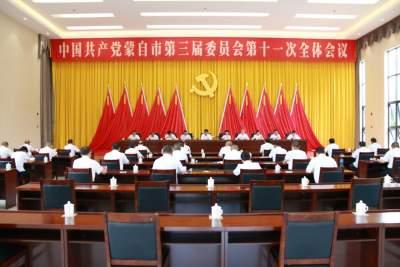 中国共产党蒙自市第三届委员会第十一次全体会议召开
