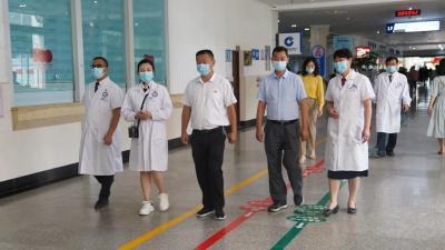 市医院迎接全省民族团结进步示范单位州级检查验收