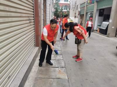 蒙自市开展全民大清扫活动