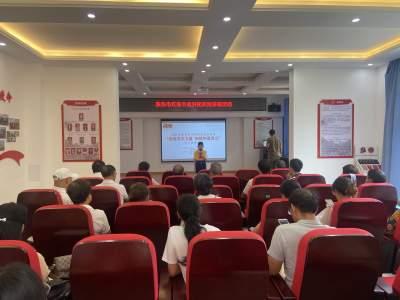 青云社区组织党员学习习近平总书记在庆祝中国共产党成立100周年大会上的重要讲话精神
