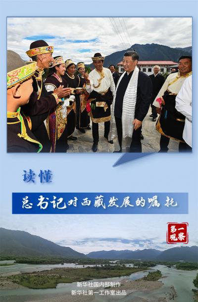 第一观察丨读懂总书记对西藏发展的嘱托