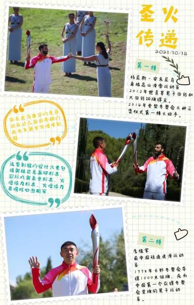 这是一份北京冬奥火种采集手账,请查收!