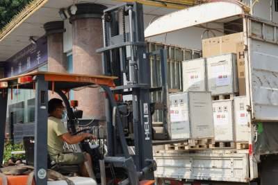 【胞波携手·共抗疫情】缅甸在华采购物资在瑞丽口岸顺利通关