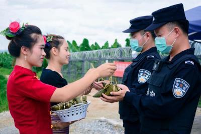 【网络中国节·端午】中缅边境线上的一次暖心端午节