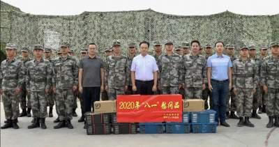 """""""八·一""""建军节来临  瑞丽市领导走访慰问驻地部队"""