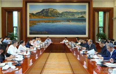 省政府与阿里巴巴集团签署深化战略合作协议:拓宽合作领域 创新合作方式 陈豪阮成发会见张勇