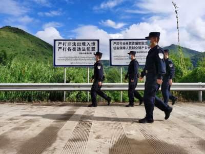 """【疫情防控】边境战""""疫""""一线:巡边路上勇担当"""