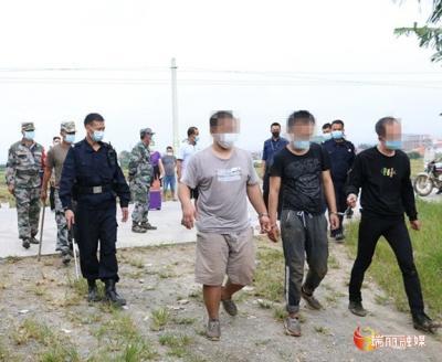 瑞丽:守住边境!抓获6名偷渡入境人员!