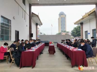 卫岗与缅甸木姐地区行政长官吴莱索丹会晤 双方就疫情防控、边境管控和贸易畅通等达成一致共识