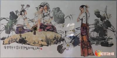 """【瑞丽市""""共饮一江水""""——中缅建交 70周年云上书画展】第二期"""