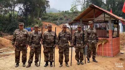 【我是瑞丽守边人】(二)189名护边员组成云南省首支强边固防巡护队  巡逻里程达30万公里