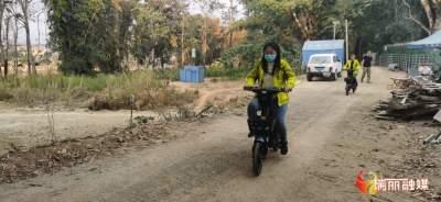 【大爱无疆·携手抗疫】这么多哈啰单车骑到了瑞丽边境防控一线