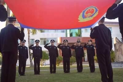 """瑞丽以多种形式庆祝首个""""中国人民警察节"""""""