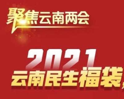 【聚焦云南两会】与你有关!2021年云南民生福袋,快来查收