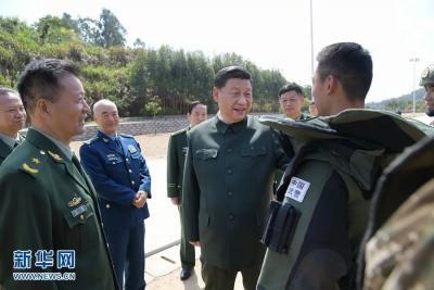习近平:全面加强练兵备战 全面提高履行使命任务能力