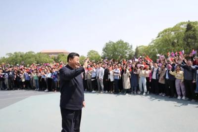 【党史学习教育】习近平:从党史学习中激发信仰、获得启发、汲取力量