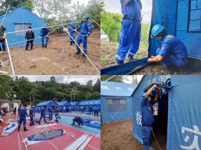 5.21大理漾濞地震,德宏州蓝天救援队在行动!