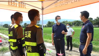 姜山到瑞丽调研地质灾害防治和边境管控工作