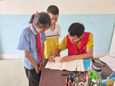 【我为群众办实事】从小事做起,弄岛中心小学在路上