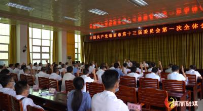 中国共产党瑞丽市第十三届委员会第一次全体会议公报