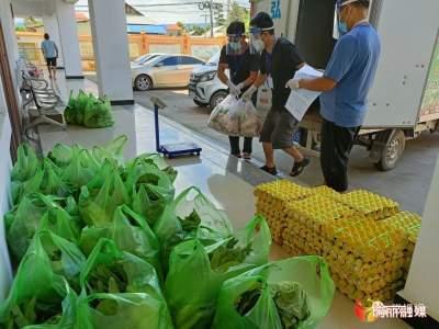瑞丽姐相:生活物资有序配送,隔离群众居家更安心