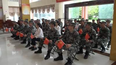 瑞丽市妇联及守边民兵收看庆祝大会实况直播