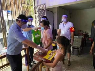 截至8月15日 瑞麗共發放7268份救助物資