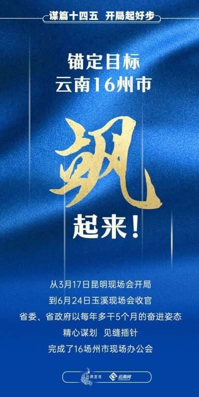 """云南16州市,""""飒""""起来!"""