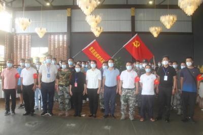德宏州62名党员抗疫突击队员奔赴姐告