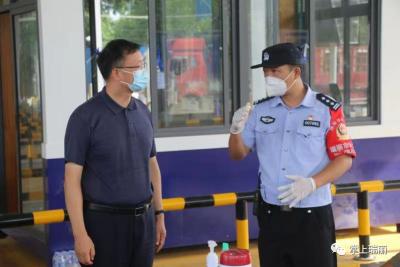 姜山赴陇川、瑞丽看望慰问坚守岗位的党政军警民值守人员