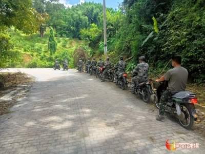 【大爱无疆·携手抗疫】瑞丽市利民集团捐赠30辆摩托车助力边境巡防