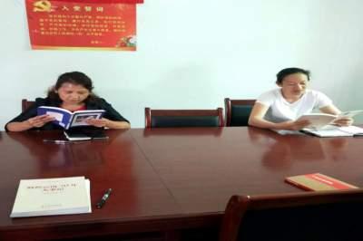 读精品 送图书 学业务——陇川县侨联开展全民读书日活动