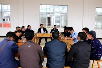 县政协主席陈绍昌一行到城子镇异地搬迁安置点调研指导