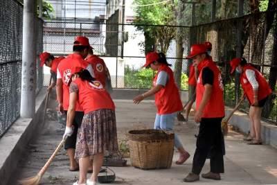 小举动起大作用  志愿服务在行动