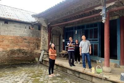 陇川县文物管理所积极开展汛期文物建筑安全检查
